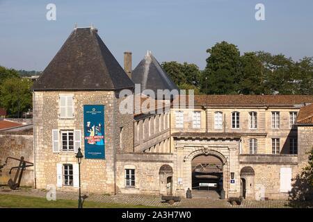 Francia, el departamento de Charente-Maritime, Rochefort, Quartier de l'Arsenal, el Museo Marítimo Nacional, el antiguo hotel de Cheusses
