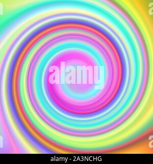 Arco iris multicolor abstracto remolino psicodélico de trama de fondo.
