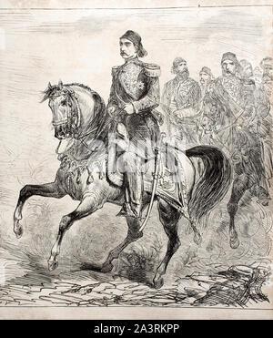 Abdul Hamid II (1842 - 1918) fue la 34ª sultán del Imperio Otomano y el sultán pasado para ejercer un control eficaz sobre la fractura de estado.