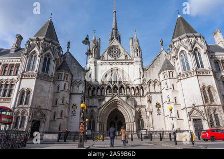 Las Cortes Reales de Justicia, Londres City