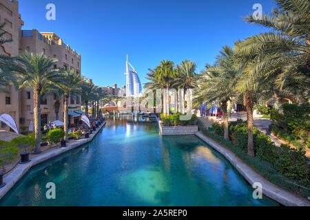 El Burj Al Arab hotel Jumeirah, Dubai, Emiratos Árabes Unidos.