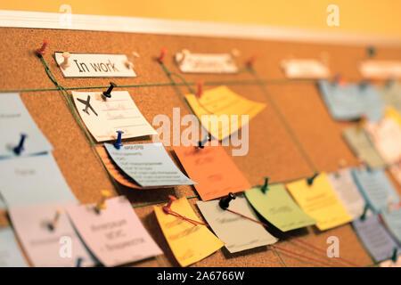 Tareas Utilice la junta en metodología ágil, scrum y la gestión del proyecto durante su software o el desarrollo.