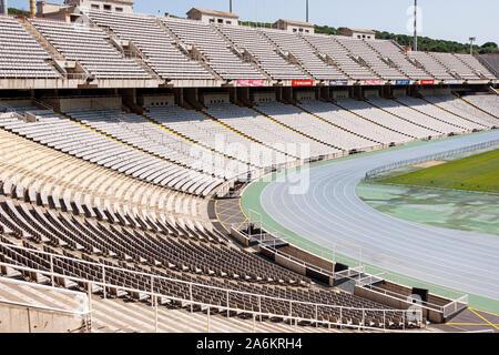 Barcelona España Cataluña Catalunya Parc de Montjuïc Stadi Olímpic Lluís Companys Estadio Olímpico 1929 Exposición internacional mirador del campo ble