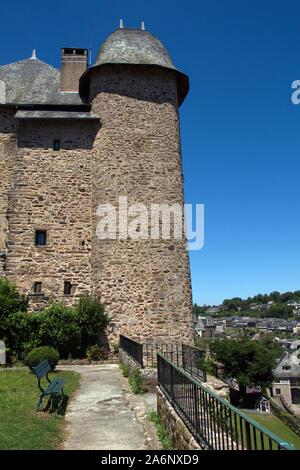 Joyau de Maubec, una mansión del siglo 16 se convirtió en un hotel Uzerche, Correze, Francia Foto de stock
