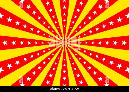 Vintage Circo Vector De Fondo Rojo Circo Poster Retro Con