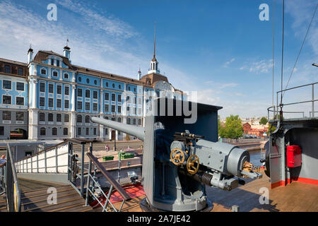 San Petersburgo, Rusia. Crucero Aurora Foto de stock