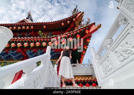 Thean Hou templo es uno de los templos más grandes y antiguos en el sudeste de Asia. Es una popular atracción turística situada en Kuala Lumpur, Malasia.