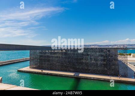 Museo de la civilización europea y mediterránea, Marseille, Bouches du Rhône, Provence, Francia, el Mediterráneo, Europa