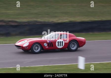 1964 Ferrari 250 GTO/64 piloto James Cottingham Graham Hill Trofeo Carreras Goodwood Chichester West Sussex
