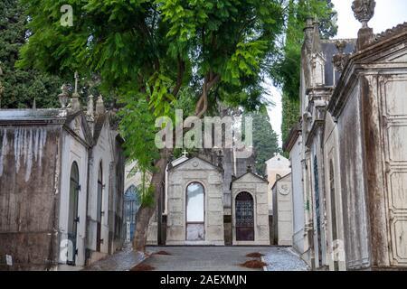 Prazeres Cementerio de Lisboa, Portugal.