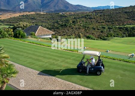 Campo de Golf de Finca Cortesin hotel en Málaga Costa del Sol Andalucía España
