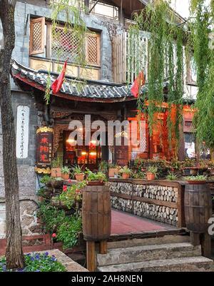 Ciudad vieja de Lijiang, provincia de Yunnan, China