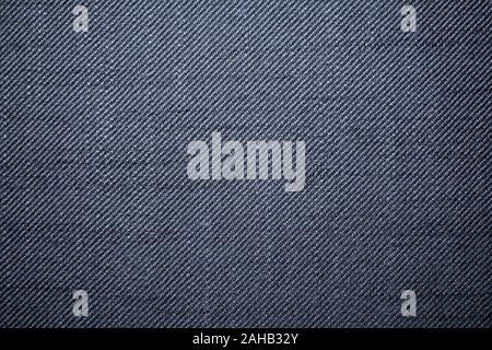 Aquí es de un azul denim como tejido que varía en hilo blanco y azul Foto de stock