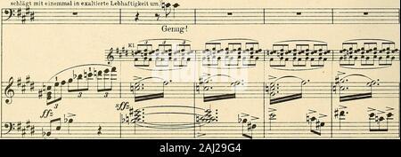 Eine florentinische Tragödie : Oper en einem Aufzug, Op 16 . mit Ped. Vcl.Hr. U. E.5662.