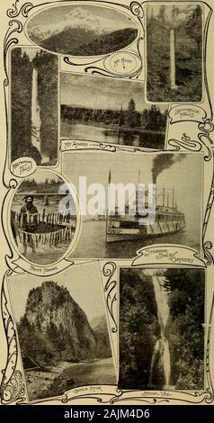 Guía oficial de la exposición del centenario de Lewis y de Clark, Portland, Oregon, del 1 de junio al 15 de octubre de 1905, .. . 35 Alegría de aLifetime aprovecho Steamers Bailey Gatzert Dalles Regulador de la ciudad. 36