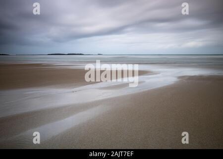 Whitesand Bay, Sennen Cove, Cornualles, en el REINO UNIDO