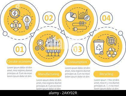 Las comodidades del hotel vector plantilla infográficos. Sala de instalaciones y servicios. Elementos de diseño de presentación de negocios. Visualización de los datos con los pasos y op