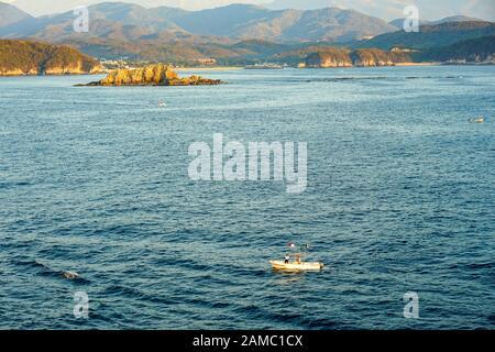 Muelle de Crucero y resort de Vista de Huatulco Bays de Huatulco, México, Bahía L'Entrega, Bahias de Huatulco, Oaxaca, Playa Santa Cruz