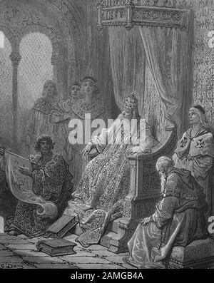 Las cruzadas fueron una serie de guerras religiosas en Asia occidental y Europa iniciadas, apoyadas y a veces dirigidas por la Iglesia Católica, Sanuto Infront Papa Johann XXI., Papa Juan XXI., Marco Sanudo, nacido en 1227, fue un noble veneciano que ascendió al duque de archipiélagos, tiempo de cruzadas, Sanuto vor Papst Johann XXI., geboren 1227, war ein venezianischer Adliger, der zum Herzog von Archipelagos aufstieg, Zeit der Kreuzzüge, Kreuzzüge waren von der Lateinischen Kirche sanktionierte, straisch, religiös und wirtschaftlich motiviege 1095/99 13. Jahrhundert, H.