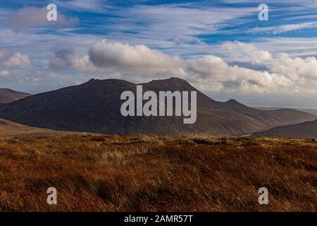 Slieve Binnian Y Wee Binnian, Mourne Mountains, County Down, Irlanda Del Norte