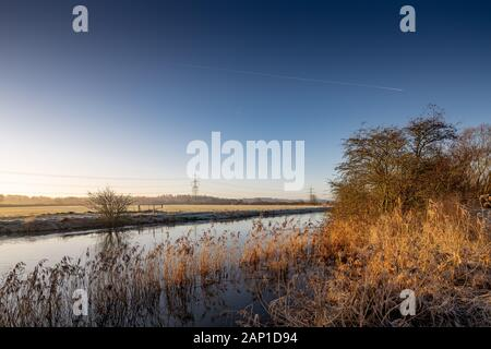 Bampton, Oxfordshire, River Thames, Lugar Shoot, Vacaciones, Viajes