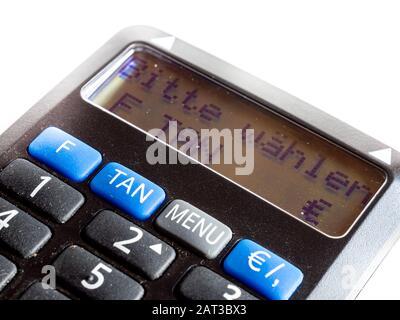 Generador DE TAN de chip bancario en línea aislado