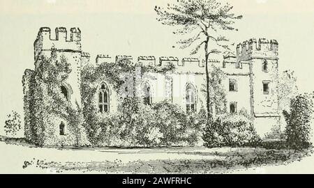 Ontario High School History of England . eran muy costosos de construir y mantener. Eran en efecto fortalezas, con guarnición aconsiderable, y la mayoría de ellas pasaron a las manos del rey, o a las de unos pocos nobles que tenían hiscencias. Las guerras de las Rosas, que tendieron a reavivar el poder de los nobles, llevaron a algunos de ellos a fortificar teirresidencias. La artillería, sin embargo, estaba haciendo el castillo de poco uso en la guerra, y, al cierre de la Edad Media, los nobles tericher vivían en suntuosos palacios, construidos sin pensar en la defensa militar. La casa solariega.—el escuadre del pueblo, o señor del m