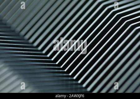 Concepto de bacground abstracto de línea paralela geométrica de Mtall Foto de stock