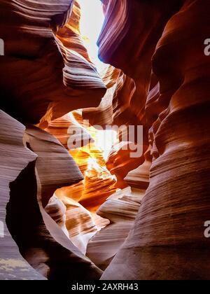 Antelope Canyon - cañones de ranura en Page Arizona, EE.UU