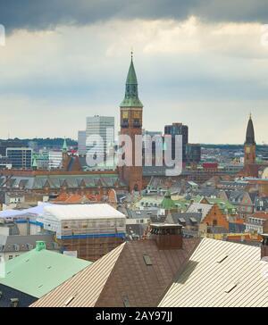 Vista de Copenhague Dinamarca