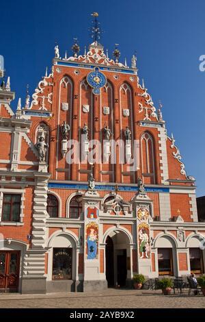 Casa de Blackhead en Riga, Letonia