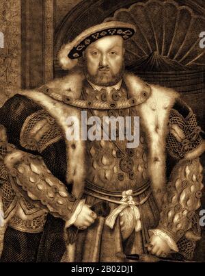 Henry VIII, 1491-1547, Rey de Inglaterra, Foto de stock