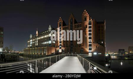 El Museo Marítimo Internacional, Hafencity, Hamburgo, Alemania,