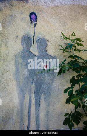 Arte callejero en Mitte, Alemania, Europa