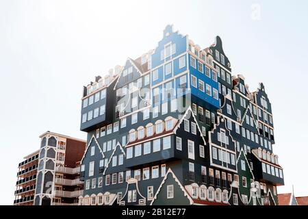 Hotel con arquitectura excepcional en Zaandam, cerca de Ámsterdam, Países Bajos