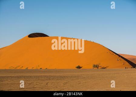 Las dunas más grande del mundo, en Sossusvlei, Namibia, África