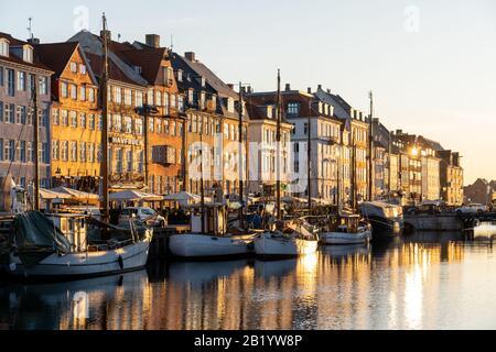 Famoso Nyhavn En Copenhague, Dinamarca