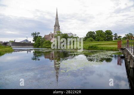 Iglesia de San Albans, una iglesia anglicana en Copenhague, Dinamarca