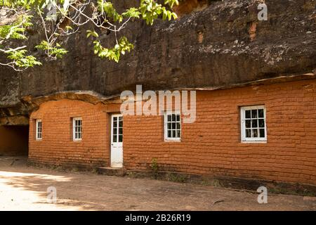Masitise Cave House Museum, Quthing, Lesotho Foto de stock