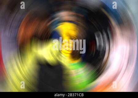 Resumen Antecedentes de Spin Círculo Desenfoque Radial