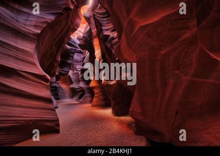 Ee.Uu., Estados Unidos De América, Utah, Page, Upper Antelope Canyon,