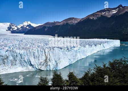 Cara norte del Glaciar Perito Moreno, Patagonia, Sant Cruz, Argentina.