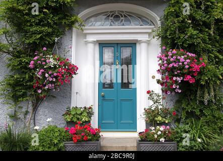 Casa de lujo en Sandycove en el condado de Dublín Foto de stock