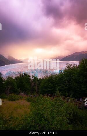 Glaciar Perito Moreno paisaje argentina
