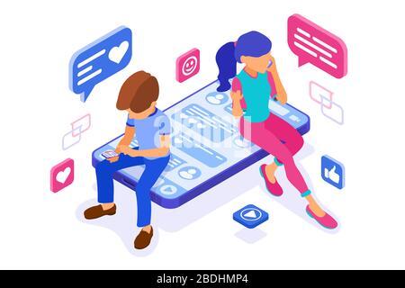 chat en línea citas amistad en redes sociales