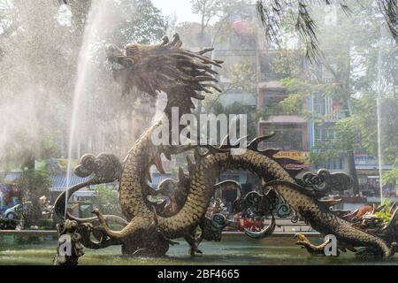 Fuente del Dragón, Ciudad Ho Chi Minh, Vietnam