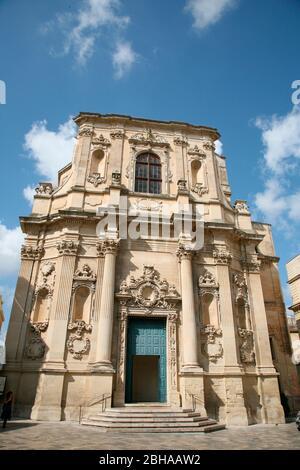 Chiesa di Santa Chiara, Lecce, Puglia