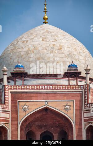Tumba de Humayun, mausoleo del emperador mogol Humayun en Nueva Delhi, India