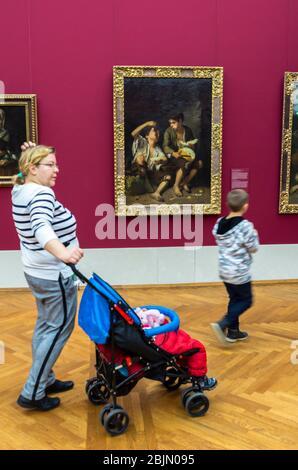 Alte Pinakothek, Munich, Baviera, Alemania.