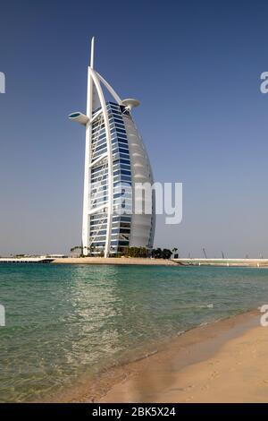 Burg al Arab Jumeirah de Sunset Beach en Dubai, Emiratos Árabes Unidos